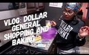 Vlog: Dollar General and Christmas Baked Goodies for Co-Workers