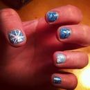 winter wonderland nails.