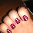 pink n black stripes