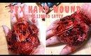 SPECIAL FX HAND WOUND WITH BONES USING LIQUID LATEX  | SFX HALLOWEEN TUTORIAL