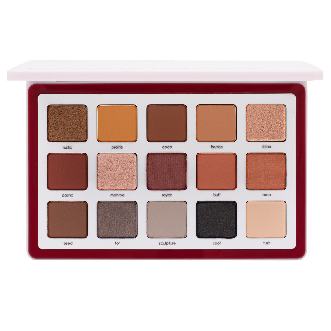Natasha Denona Biba All Neutral Palette product smear.