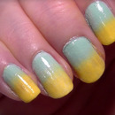 Simple Pastel gradient nail