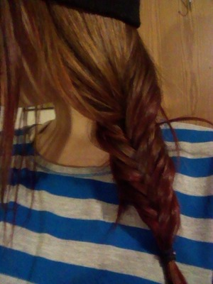 it was hard because of my layers but it turned out good! I feel accomplished.