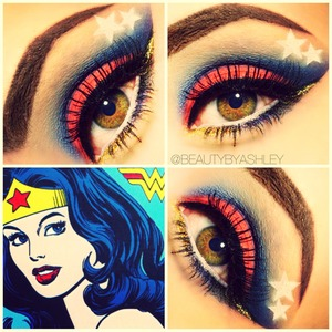 To see this makeup look and more, follow me on Instagram @beautybyashley ☺❤💙