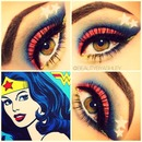 Wonder Woman Inspired Makeup!