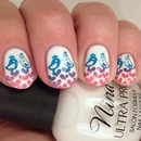 Lovebird Gradient Stamping