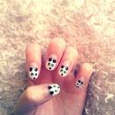 Panda nails :)