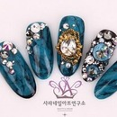 Korean Autumn Nail Art