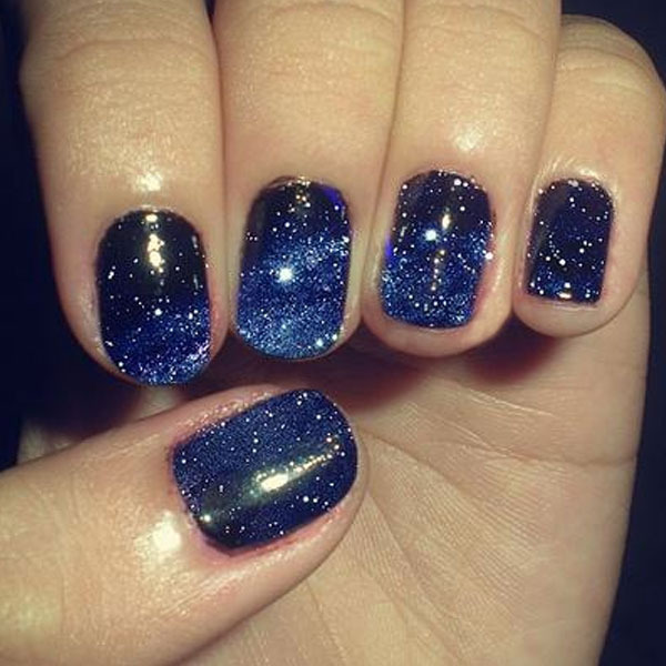 trend galaxy nails beautylish