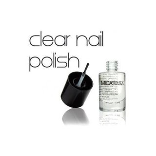 Micabella - Mica Beauty Cosmetics Clear Nail Polish