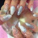 My Christmas nails 😍🎅⛄️