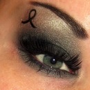 Melanoma Awareness Makeup<3