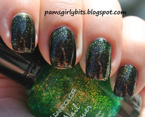 kleancolor golden nightmare and chunky holo 6