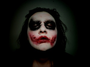 The Joker is the 5th makeup tutorial for my 2012 Halloween series. For Heath ♥ Watch it here:>  http://youtu.be/VHomt_gU-ck