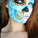 Two Faced Sugar Skull
