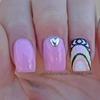Heart Studs Nails