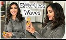 How I Style My Mid-Length Hair|| Effortless Waves