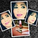 Mac Viva Glam Nicki 2 Lipstick lined with Aveda's Hawthorne Berry Lipliner. ♡