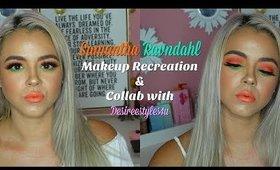 Collaboration Recreation of Samantha Ravndahl | Beauty by Pinky