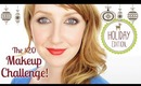 $20 Holiday Makeup Challenge! Collab with Claire Ashley!