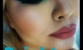 Miss Glam Makeup Bright Sparkly Spring Makeup Get Ready with me
