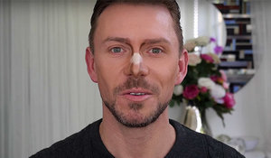 How to contour a bulbous nose