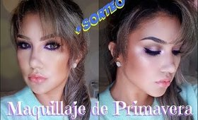 Maquillaje de PRIMAVERA + SORTEO !!! 🌸🌺 / giveaway & spring look | auroramakeup