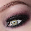 Smokey Eye With Red&Glitters