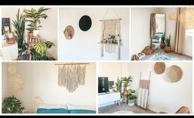 MY SPRING HOME DECOR 2020 | HOW-TO be SUSTAINABLE TIPS & IDEAS