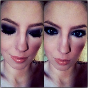 Still new to full on smokey eyes, feel free to give constructive criticism!   Used: Collection Smokey Eys Palette in 3 SMOKEY Bourjois Queen Attitude Khol Kajal Rimmel Special Eyes in 161 Black Magic