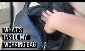 What's inside my work bag | Team Montes