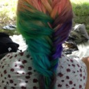 Colored My Friends Hair for The Summer