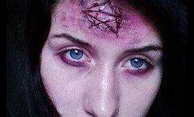 Quick & Easy: Blutiges Hexen - Pentagram Halloween Tutorial (Last Minute Makeup)