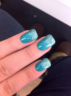 This is what I got done at the nail salon :)!