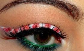 Candy Cane | Christmas Makeup!