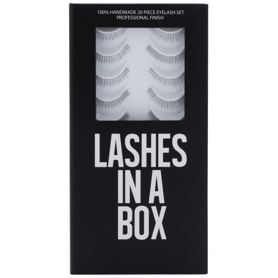 LASHES IN A BOX Lower Lash N°1 product swatch.