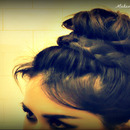 Braided Sock Bun.  Upside Down Braided,Lace Braid Bun!
