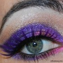 Purple Almond Cateye with Milani