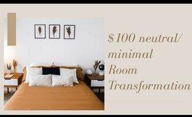 $100 ROOM TRANSFORMATION!