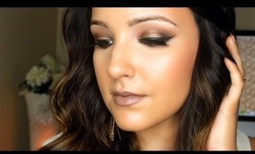 Bronze Smokey Eye Tutorial | Amanda Ensing