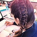 Braid by my friend Adriana (: