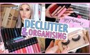 New Makeup  🔪 ORGANIZE AND DECLUTTER MY MAKEUP COLLECTION! 😏