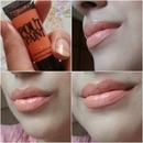 "sleek pout paint ""peachy keen"""