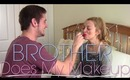 Brother Does My Makeup - Intensely | TheStylesMeow