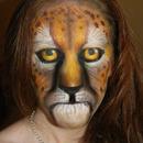 Airbrush Leopard