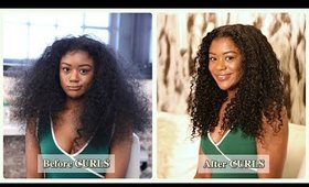 Curls Green Collection