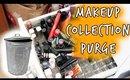 Makeup Collection Purge / De-Stash   OliviaMakeupChannel