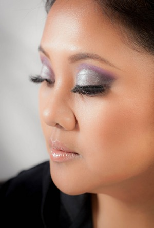 I used RCMA palette and Kevyn Aucoin sculpting powder and Nars multiples on this makeup look I did with Photographer Ron V.