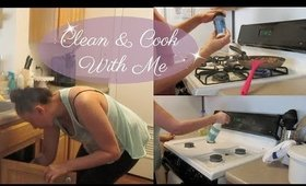 Clean & Cook With Me | Cleaning On A Weekday | Cleaning Motivation