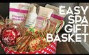 EASY INEXPENSIVE SPA GIFT BASKET IDEA + We're Making Cookies!